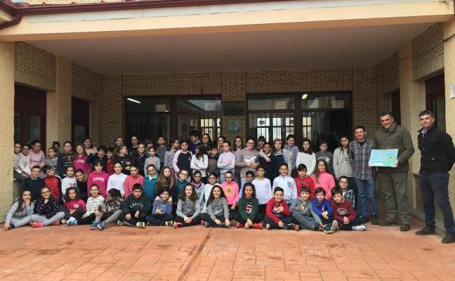 El colegio Camilo Hernández de Coria gana en reciclaje