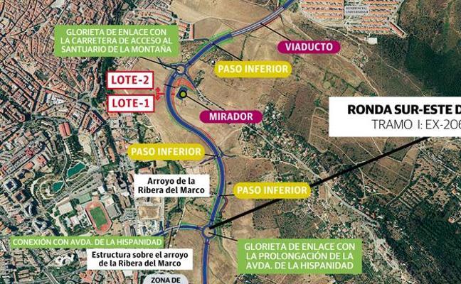 Anuladas las adjudicaciones y la licitación de la Ronda Sureste de Cáceres