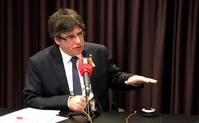 Puigdemont acusa al juez Llarena de «usurpar la función de la democracia»