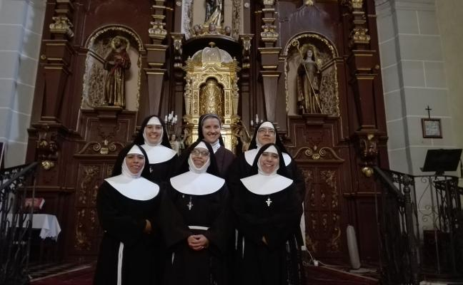 «La savia nueva llega al convento»