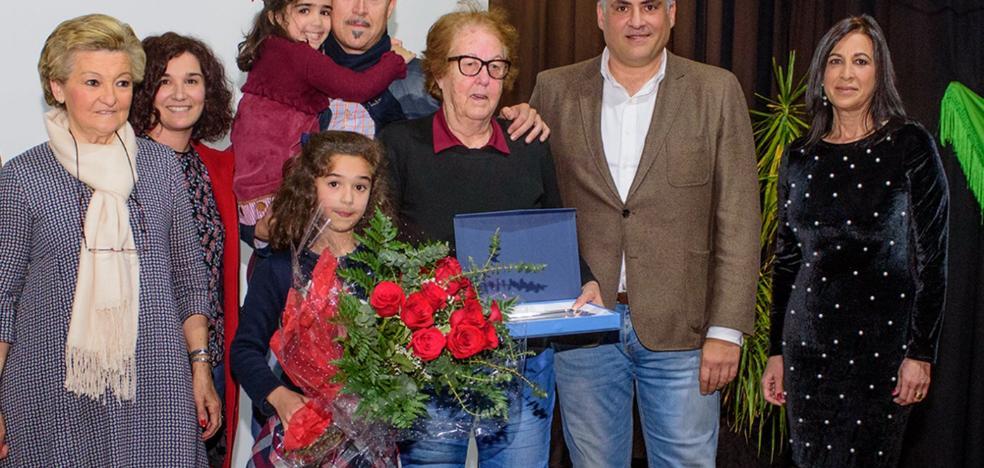 Amalia Alcoba recibe un homenaje en Coria por el Día de la Mujer