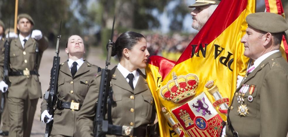 Un millar de soldados juran bandera en el Cefot, que ya espera otros 1.150