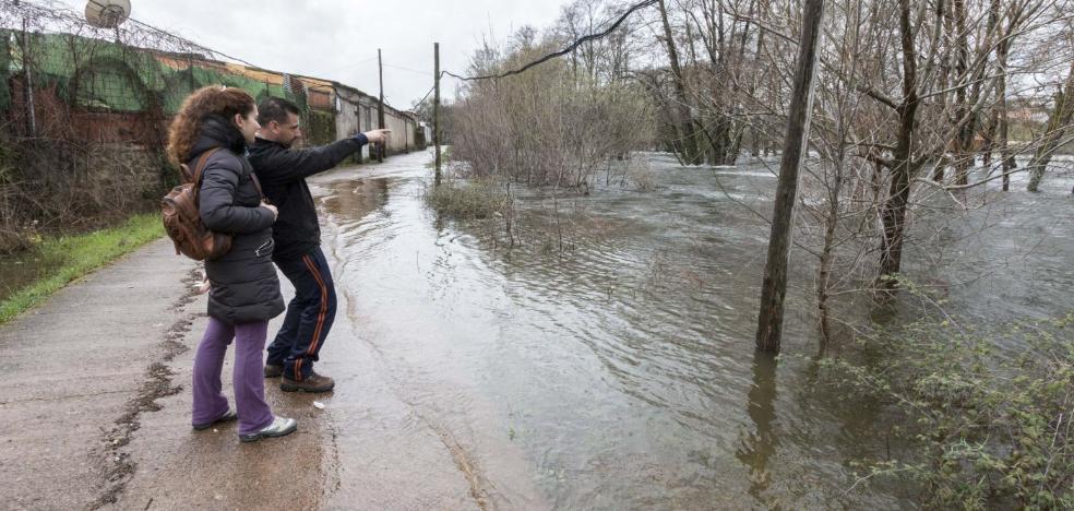 Alerta por la borrasca en un domingo con cauces desbordados en Extremadura