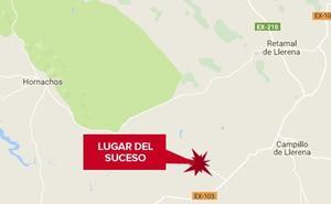 Un hombre de 32 años resulta herido en un accidente laboral en Campillo de Llerena