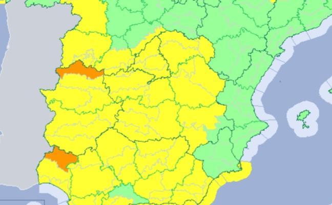 Los avisos por viento y lluvia vuelven el miércoles a la región con la llegada de la borrasca Gisele