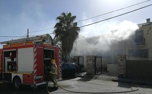 Incendio en un unifamiliar de Trujillo