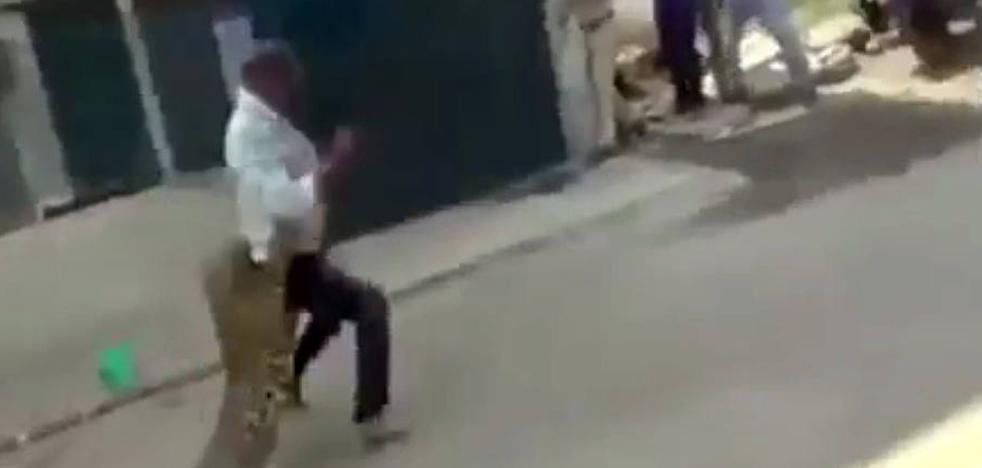 El ataque de un leopardo