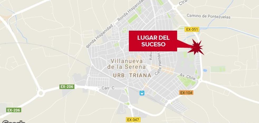 Herido leve un hombre de 74 años al caerse de una bicicleta en Villanueva de la Serena