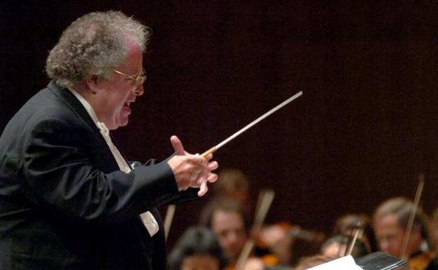 El director de orquesta y pianista James Levine./Sigi Tischler (Efe)