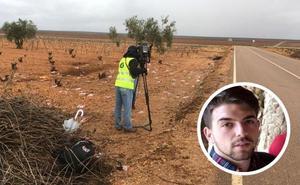 Muere un repartidor de comida rápida en un accidente en Aceuchal