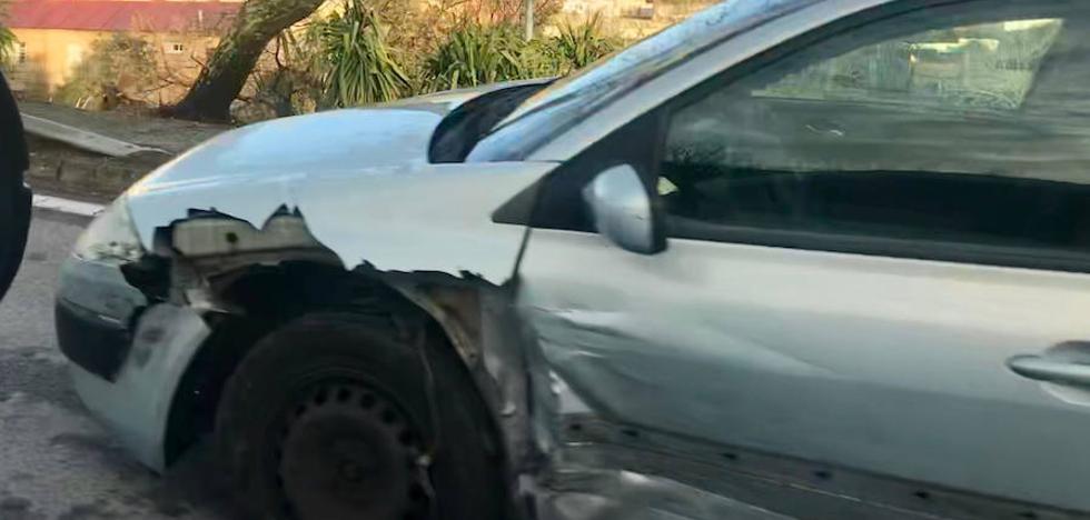 Segunda colisión en dos días en Ronda de Vadillo en Cáceres