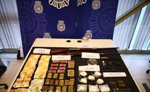 Detenidos en Plasencia cuatro de los nueve miembros de un clan de venta de drogas