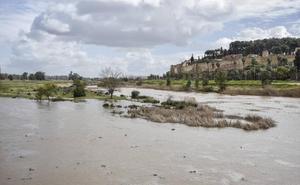 La lluvia deja mucha agua en El Pico y el Rivillas de Badajoz