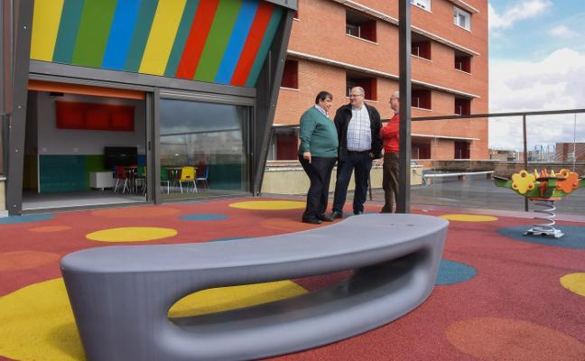 El parque para los niños ingresados en el Materno abrirá tras Semana Santa
