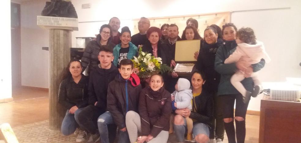 La localidad rinde homenaje a Josefa Ortiz Sánchez