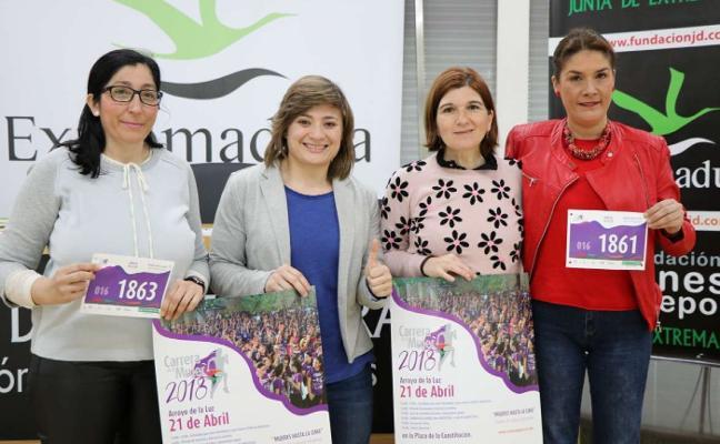 Mariluz Tejado y Paloma Quintero, madrinas de la Carrera de la Mujer