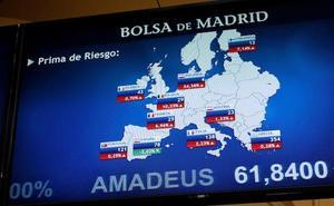 El Ibex-35 lidera las alzas en Europa, aupado por un Wall Street alcista