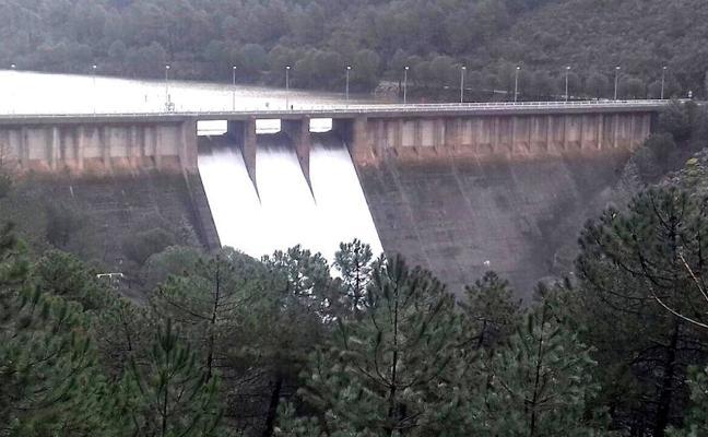 El 60% de los pantanos de la Junta de Extremadura está desembalsando agua