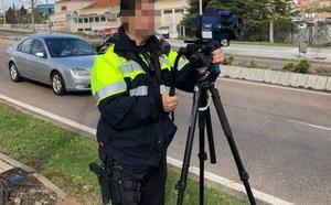 La Policía Local de Mérida prueba el radar móvil