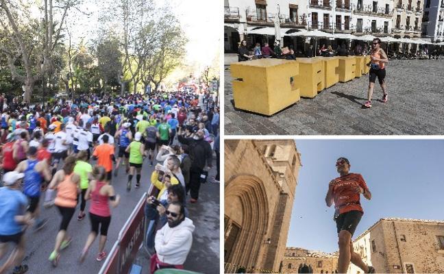 La XII Media Maratón de Cáceres, que se celebra el 8 de abril, estrena circuito a una sola vuelta
