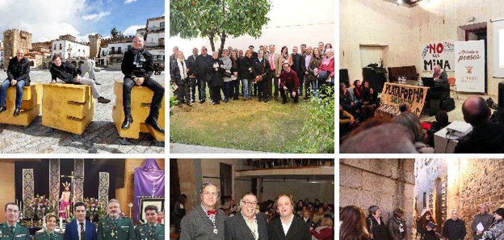 Cáceres, ciudad de cine y de incienso