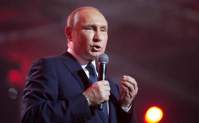 Putin llama a los rusos a votar en las presidenciales del próximo domingo