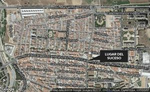 Pierde un diente al ser atropellado por un turismo en Badajoz