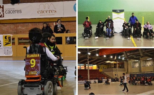El hockey en silla de ruedas eléctrica se abre paso en la región
