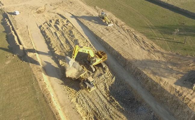 Iniciadas las obras de la carretera de circunvalación de Herrera del Duque