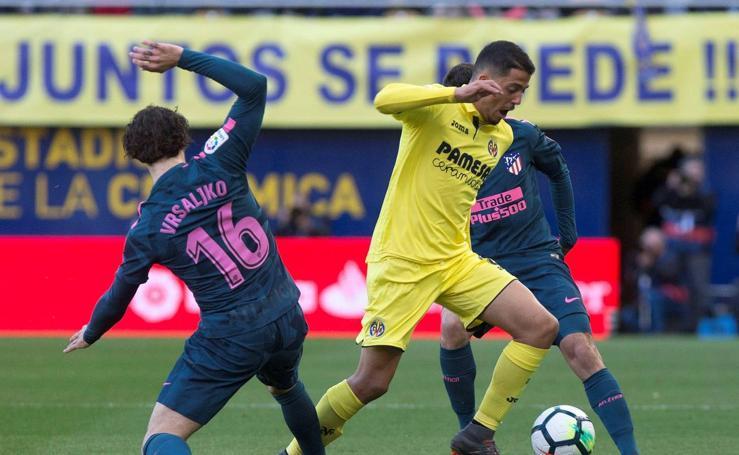 Villarreal-Atlético, en imágenes