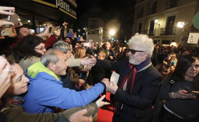 Pedro Almodóvar recibe el Premio de Honor en el 25 aniversario del Festival de Cine Español