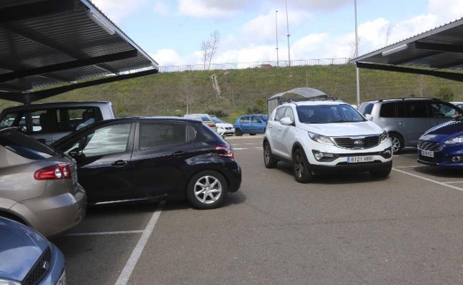 Los parkings de los centros comerciales son el lugar con más accidentes en 2017