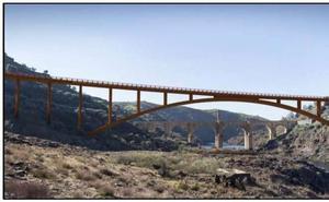 Un nuevo mirador para el puente de Alcántara