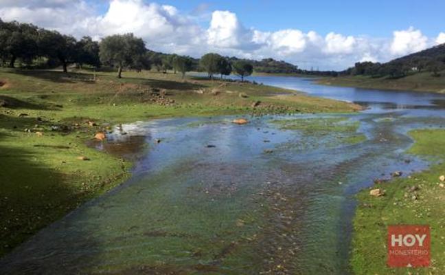 El pantano de Tentudía supera el 80 por ciento de su capacidad