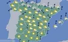 Remite la lluvia y se mantiene el frío en Extremadura