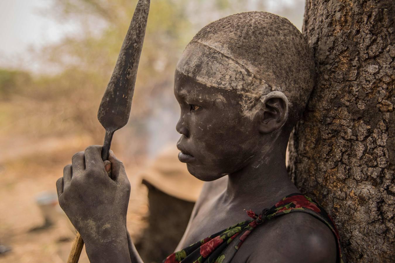 La tribu Dinka de Sudán