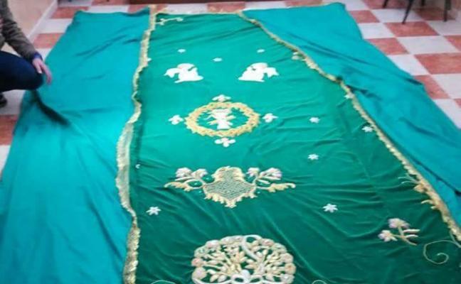 Nuestra Señora de la Esperanza no podrá estrenar manto esta Semana Santa en Mérida