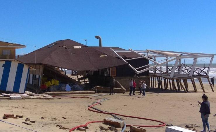 Así están las playas de Huelva a unos días de la Semana Santa