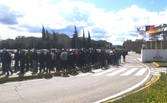 La plantilla de Deutz Spain en Zafra inicia movilizaciones por «incumplimientos» de la empresa