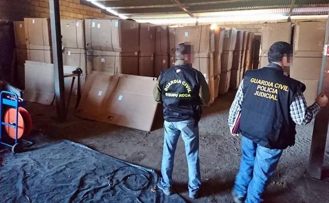 Detienen a 124 personas en una macroperación contra el tabaco ilegal de origen cacereño