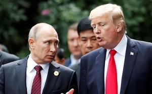 Trump y Putin coinciden en la necesidad de «limitar la carrera armamentista»