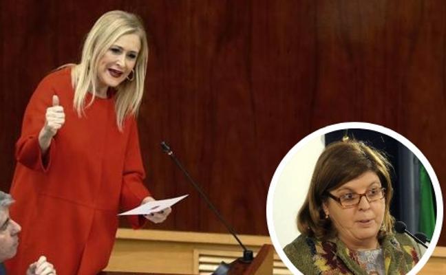 Cifuentes echa en cara a Cs la imputación en Extremadura de María Victoria Domínguez