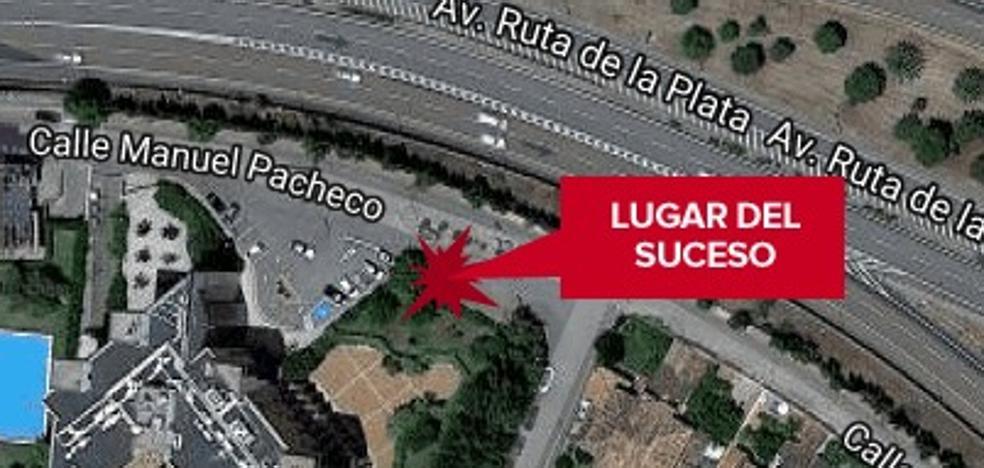 Herida una niña de dos años al sufrir un atropello en Cáceres