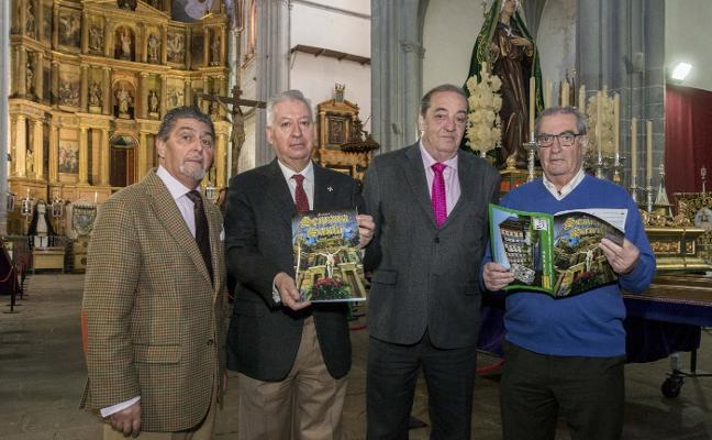 La revista de la Semana Santa profundiza en el retablo de Santo Domingo y la portada del enlosado
