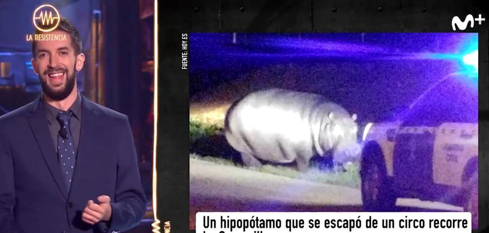 David Broncano: «Badajoz es 'Jumanji', pero más jodido»