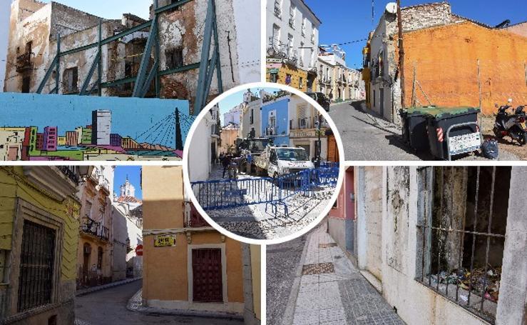 El estado del Casco Antiguo complica el título internacional para la Semana Santa de Badajoz