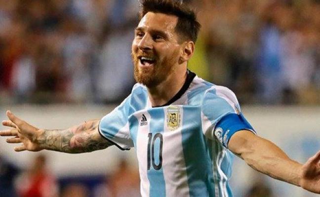 Messi calienta motores para el Mundial