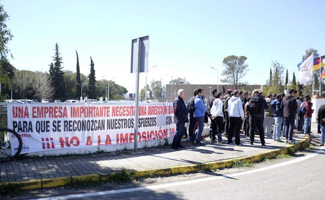 Finalizan las protestas de la plantilla de Deutz Spain