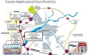 Fomento espera que las obras de la ronda sur de Badajoz comiencen el próximo mes