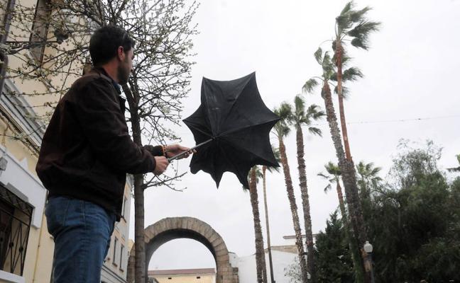 La alerta por viento en Extremadura se extiende hasta el sábado